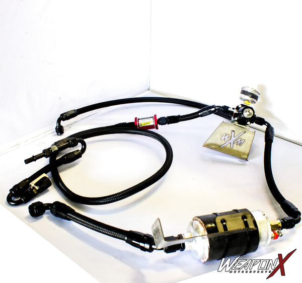 WEAPON-X: Low Side Fuel Line Pump Kit  [Camaro SS ZL1 gen 6, LT1 LT4]