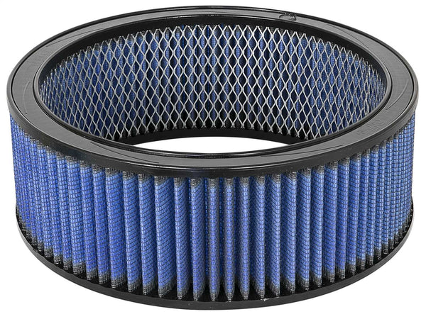 AFE: Round Racing Air Filter w/Pro 5R Filter Media 11 OD x 9.25 ID x 4 H in E/M