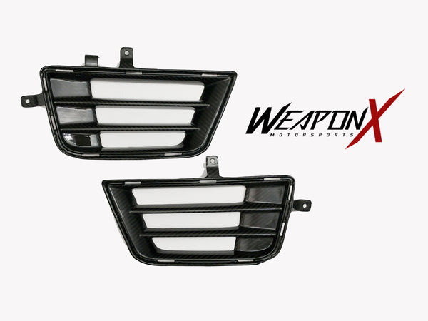 WEAPON-X: Front Bumper Vents - Carbon Fiber  [ATS V, LF4]