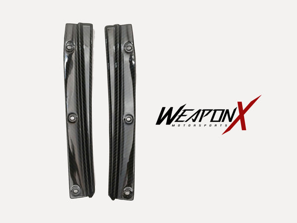 WEAPON-X: Front Splitter Wheel Arches - Carbon Fiber  [CTS V, LT4]