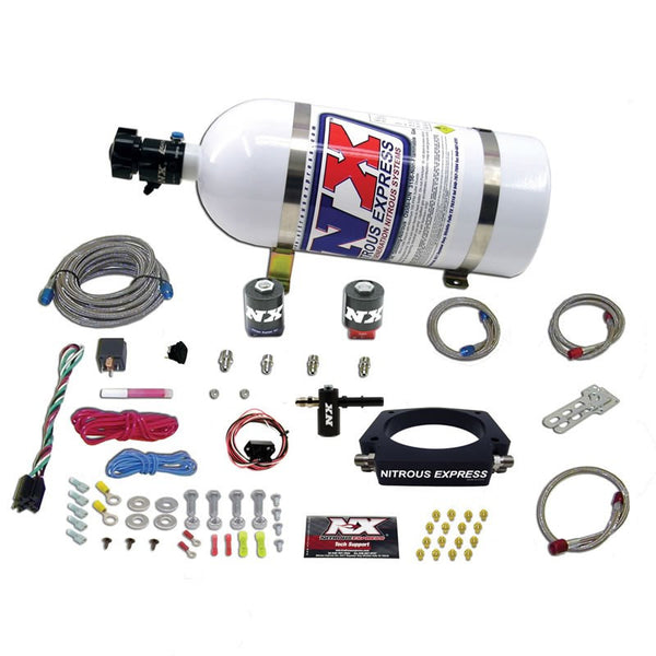 Nitrous Express: Wet Plate Kit w/ Fuel Cell  [CTS V, Camaro ZL1, LSA]