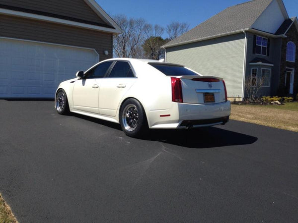 """Cadillac Ats V Coupe >> Weld RTS S77 17"""" Rear Drag Pack (CTS-V2) Coupe, Sedan, Wagon – WEAPON-X Motorsports"""