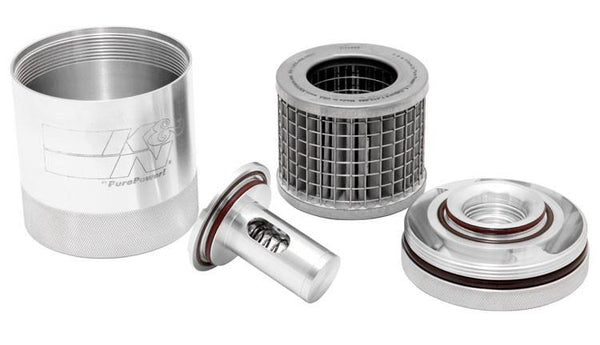 K&N: Oil Filter SS-1017 - Stainless Micro-Screen  [Camaro ZL1, CTS V, LT4]