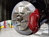 "WEAPON-X 15"" color matched brake kit - red"