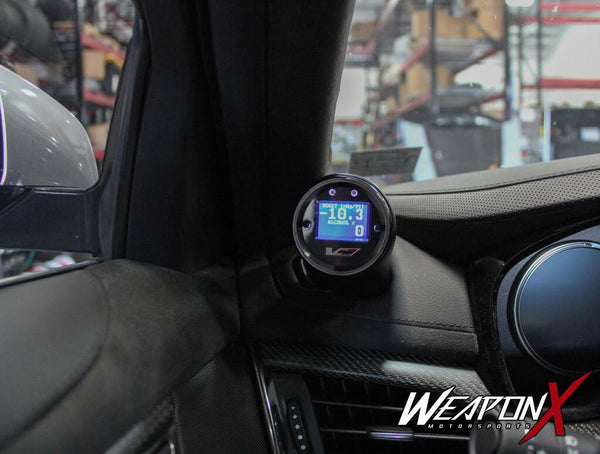 Aeroforce:  Dash Gauge Pod with Vent  [ATS V, Camaro6, CTS V]