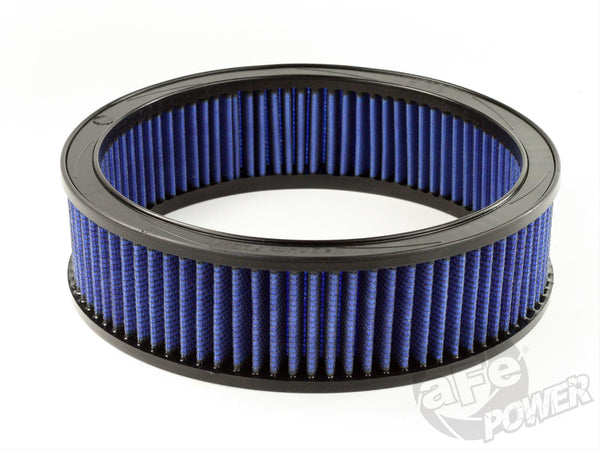 AFE: Round Racing Air Filter w/Pro 5R Filter Media 11 OD x 9.25 ID x 3 H in