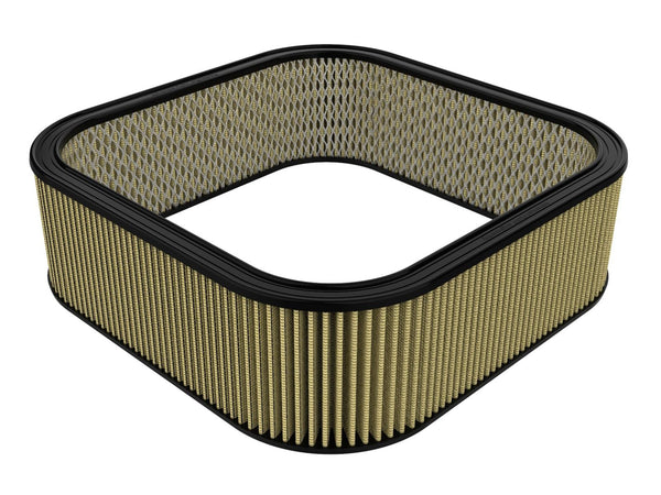 AFE: Round Racing Air Filter w/Pro GUARD7 Filter Media 20-1/2 IN L x 20-1/2 IN W x 6-1/2 IN H w/ Expanded Metal