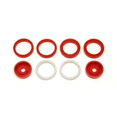 BMR: 2004-2005 Cadillac CTS-V Bushings, anti-wheel hop kit (Red)