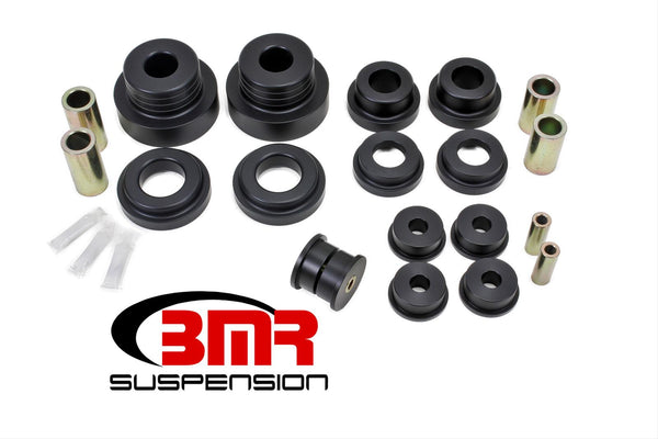 BMR: 2010-2015 Chevrolet Camaro Rear cradle bushing kit, race version (BK026, BK027)