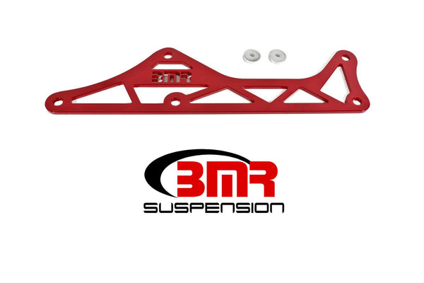 BMR: 2016-2018 Chevy Camaro Driveshaft tunnel brace, steel (Red)