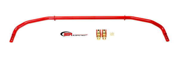 BMR: 2012-2015 Chevy Camaro Sway bar kit with bushings, rear, adjustable, hollow 32mm (Red)