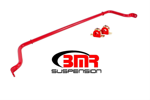 BMR: 2016-2018 Chevy Camaro Sway bar kit, rear, hollow 32mm, non-adjustable (Red)