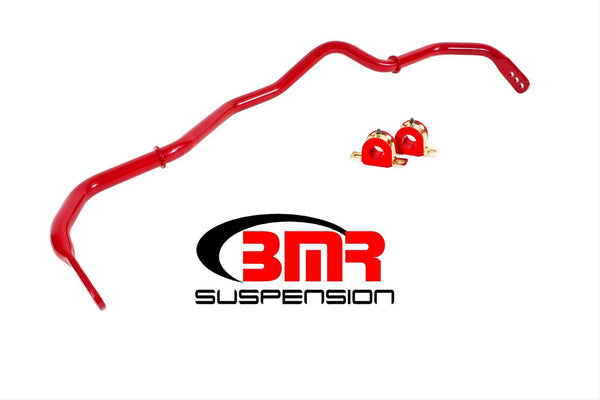 BMR: 2016-2018 Chevy Camaro Sway bar kit, front, hollow 32mm, adjustable (Red)