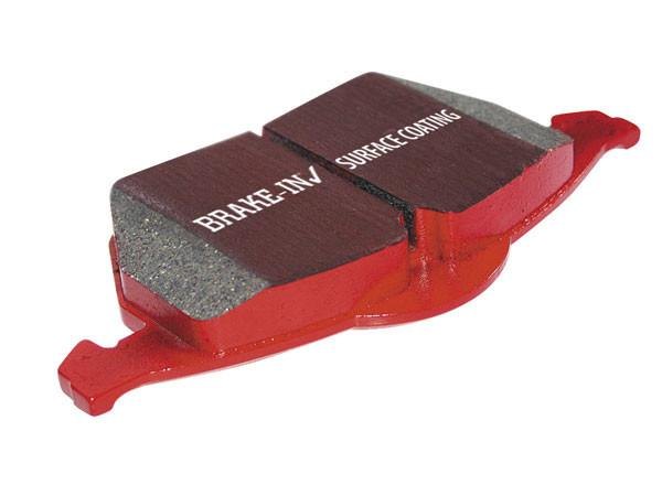 EBC: Brake Pads Red Stuff  [C7 Corvette Stingray, LT1]