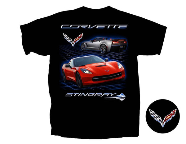 Chevrolet C7 Corvette Stingray Men's T-Shirt