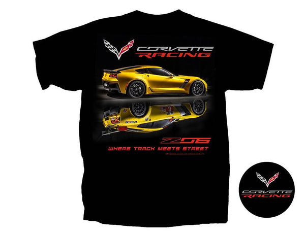 Corvette T-Shirt: Z06 & Corvette Racing