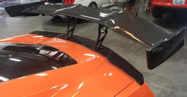 WEAPON-X: ZR1 Style Body Spoiler - Carbon Fiber  [C7 Corvette GS Z06 ZR1]