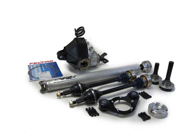 Driveshaft Shop: 2010-2015 Camaro Manual 9-Inch Direct Bolt-in Rear Conversion Kit -includes Axles and Driveshaft