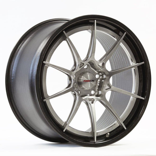 Forgeline: CF205 3 Piece Wheels - Carbon Fiber