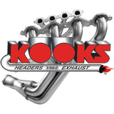 Kooks Headers & Exhaust - Headers, Long Tube, Full-length, Stainless Steel, Bronze Ceramic Coated, 2 in. Pipe, 3.50 in. Collector, Ford, 5.0L, Kit