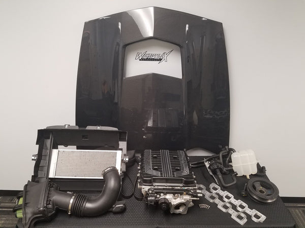 WEAPON-X:  LT4 Supercharger Conversion  [C7 Corvette, Camaro gen 6]