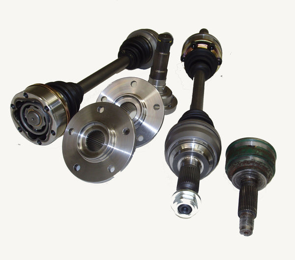 Driveshaft Shop: MAZDA 1993-1995 RX-7 (FD) Pro-Level Axle/Hub Kit (8.8 Differential)