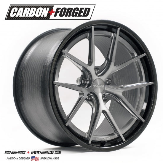 Forgeline: CF201 3 Piece Wheels - Carbon Fiber