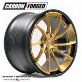 Forgeline: CF202 3 Piece Wheels - Carbon Fiber