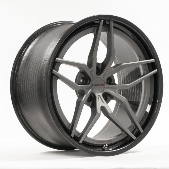 Forgeline: CF204 3 Piece Wheels - Carbon Fiber