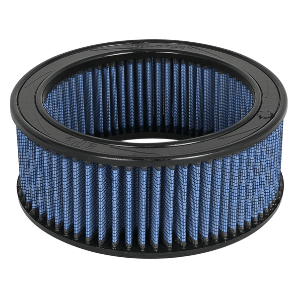 AFE: Round Racing Air Filter w/Pro 5R Filter Media 9 OD x 7.50 ID x 2.75 H in E/M