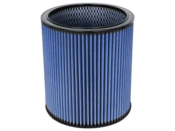 AFE: Round Racing Air Filter w/Pro 5R Filter Media 9 OD x 7.50 ID x 10 H in E/M