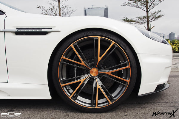 PUR 9INE Forged Monoblock wheels