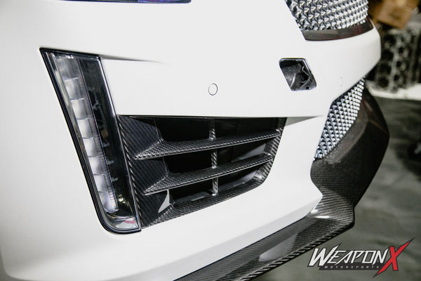 WEAPON-X: DRL Vents - Carbon Fiber  [CTS V gen 3]