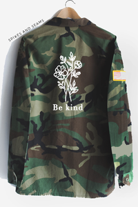 Be Kind Camo Jacket