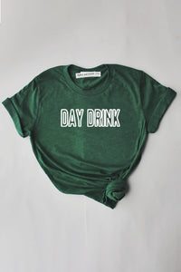 Day Drink shirt - green.
