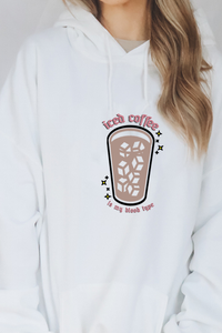 Iced Coffee is my Blood Type hoodie.