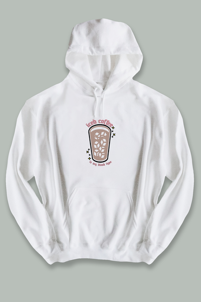 Iced Coffee is my Blood Type hoodie