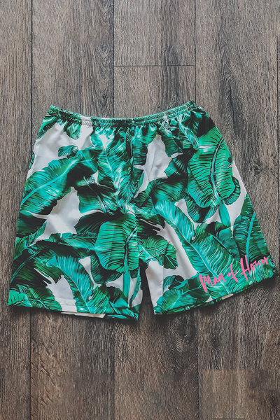 Men's Tropical shorts.