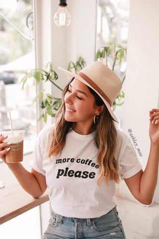 More Coffee Please tee - more colors