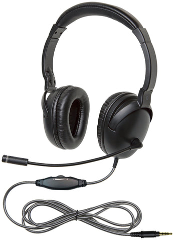 Califone NeoTech™ Plus Headset with Microphone and 3.5mm ToGoPlug