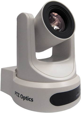 PTZ Optics 20X-NDI-WH Broadcasting Live Streaming Conferencing Camera (White)
