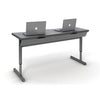 Double Computer Desk Module w/Wire Management