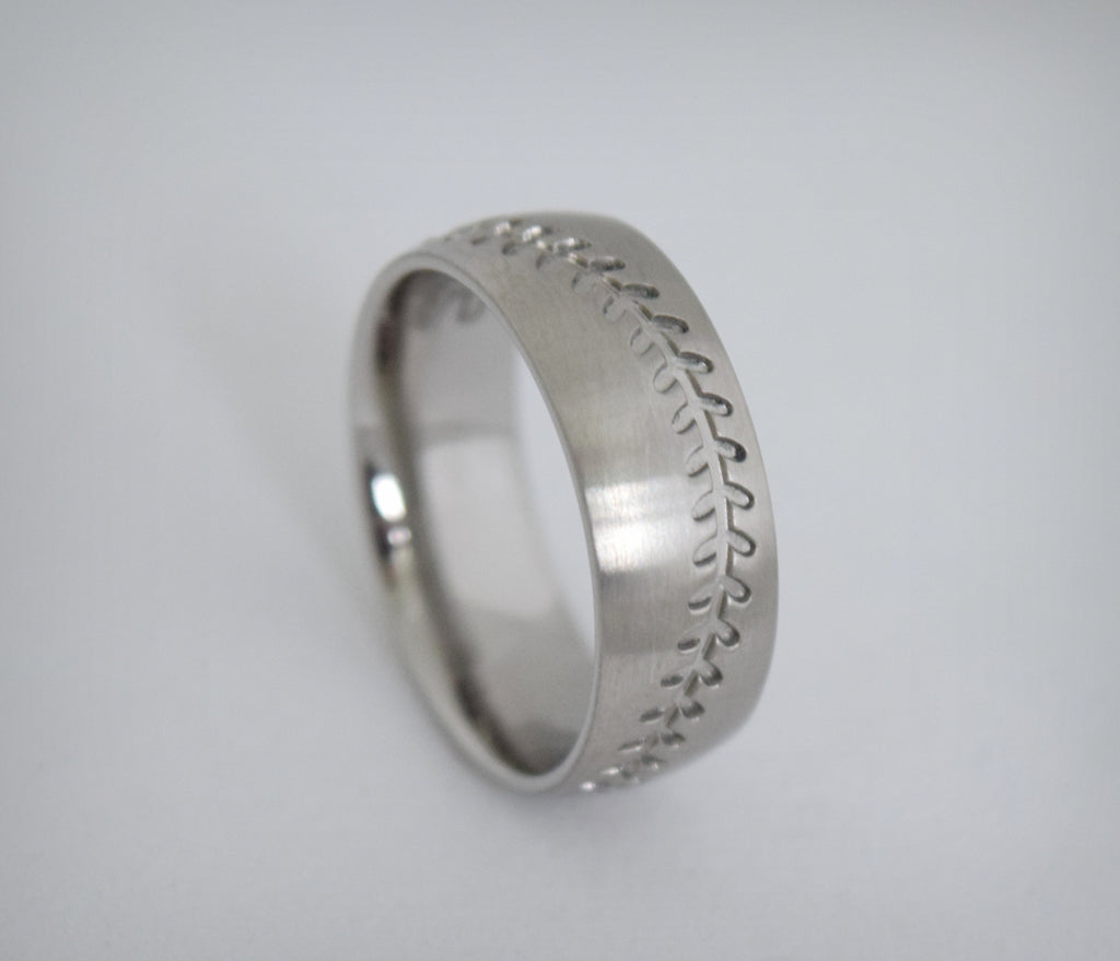 Brushed Love Of The Game Ring