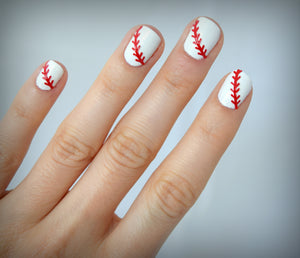 Baseball Nail Stickers