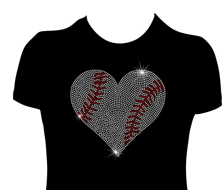 Mega Baseball Heart