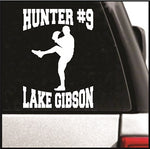 My Right Handed Pitcher Decal