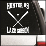 Baseball Bats Decal