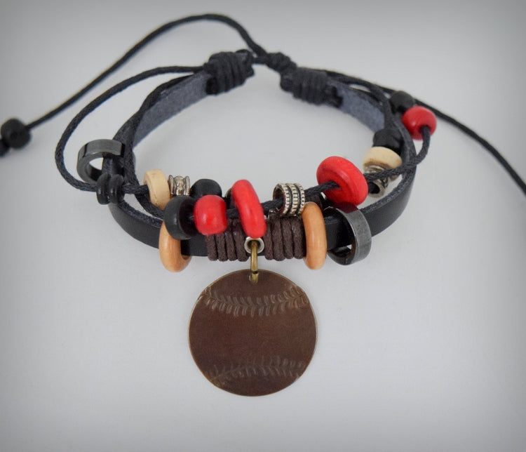 Red Woodword Bracelet