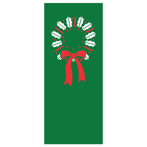 Old Favorites Wreath Banner