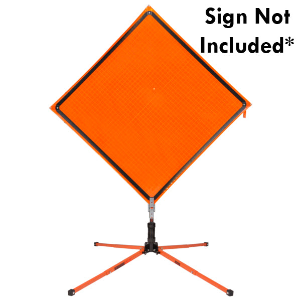 SZ-412-S Single Spring Sign Stand for Roll-Up Signs